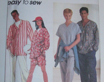 Simplicity 8749 Misses', Men's or Teen Boy's Pajamas UNCUT