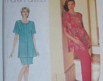 1996 Simplicity 7250 Size 14, 16, 18 Misses' Tunic, Skirt, and Pants UNCUT