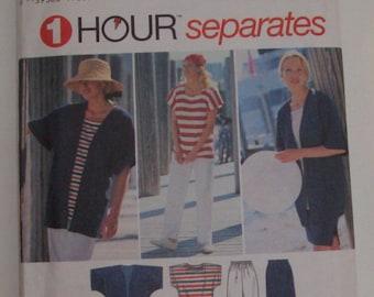 Simplicity 9515 Size XS, S, M Misses' Pants, Skirt, Top and Jacket UNCUT