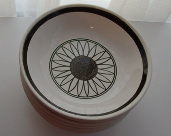 7 Cavalier Ironstone Soup or Salad Bowls by Royal China