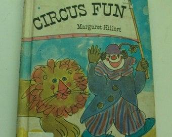 1969 Circus Fun Children's Book