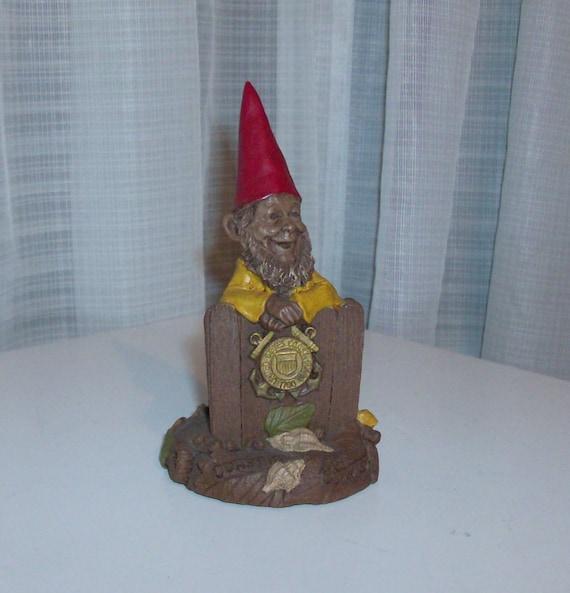1991 Coastie Collectable Gnome Figurine by Thomas Clark (Code c)