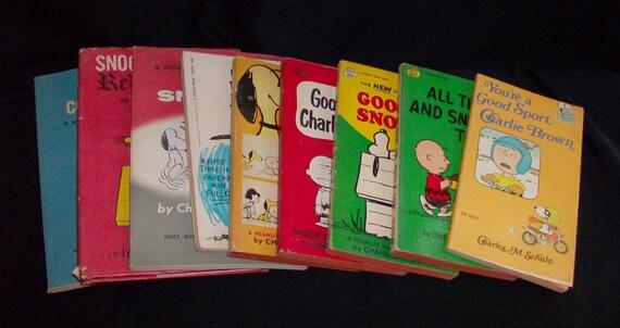 9 Peanuts Books