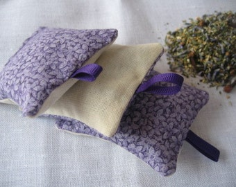 Natural Moth Repellent Sachets (set of 3 )