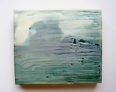 A Long TIme Ago - Original Encaustic Painting