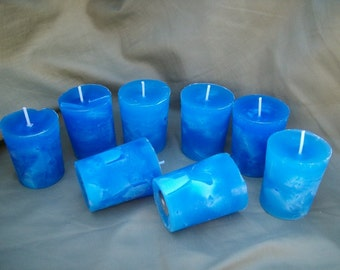 6 Wild Maine Blueberry votive candle hand poured scented