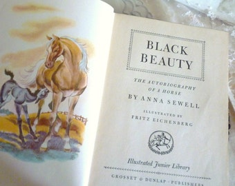C1945-1951 Black Beauty, The Book