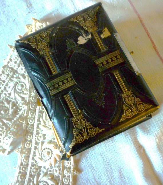 oh so tattered but oh so distinguished photo album