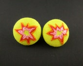 POW - Embroidered Earrings- available in more colors