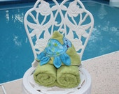 Hooded Turtle Towel for beach bath or play