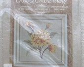 ON SALE - Elsa Williams Vintage Flower of the Month Crewel Embroidery Kit No. KC302 November - FREE US SHIPPING