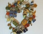Mountain Spirit Gemstone Charm Bracelet