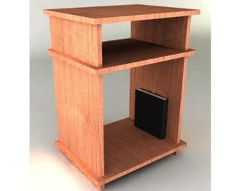 Modern Night Stand Furniture Plan