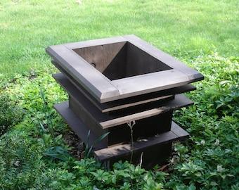 Craftsman Style Planter Box Woodworking Plan