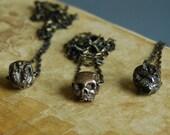 Anatomical Skull Pendant