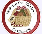 From The Kitchen Custom Labels, Stickers - 2.5 inch round - Personalized for YOU