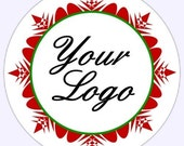 Custom Business Labels, Logo Stickers - Personalized for YOU - Thank You or Logo Labels