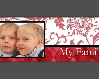 Custom Blog or Website header, blog banner - personalized and designed FOR YOU