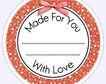 Custom Kitchen or Canning Labels, Made For You Stickers - Personalized Labels, From the Kitchen Stickers