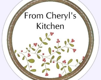 Custom Canning Labels, From the Kitchen Stickers - Personalized for YOU