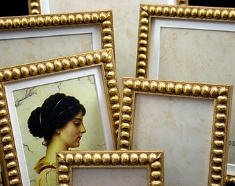10x12 Gold Boules Photo Frame for Weddings Portraits and Other Images