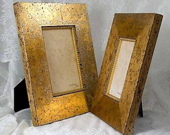 5x7 Soft Warm Gold Photo Frame