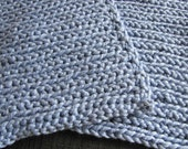 Organic cotton Washcloth set in Periwinkle Blue