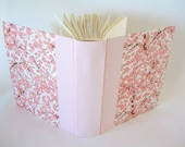 Photo album - pink plum chiyogami - 8x10in 20.5x24.5cm -50 pages -  Ready to ship