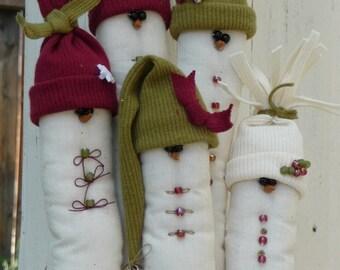 PATTERN ................................................................My Family - Snowmen