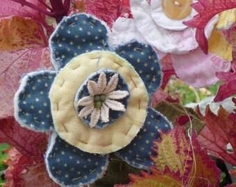 MINI Pattern..................................Daisy flower poke  190E