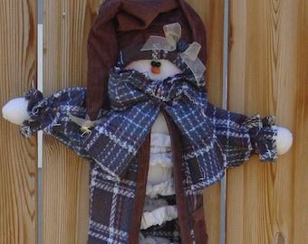 Pattern - Snowman Slinky