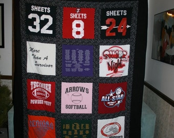 twin size t shirt quilt