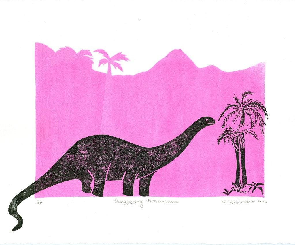 Banqueting Brontosaurus