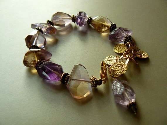 Sale Dreams with Natural Ametrine and Gold
