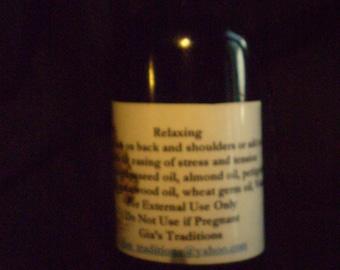 Relaxing Massage oils 4oz