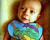 Teenage Mutant Ninja Turtle Infant Bib