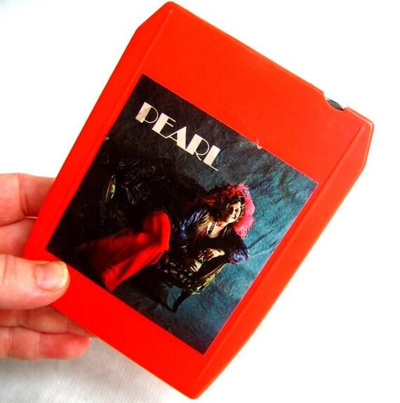 Inside Of A 8 Track Tape: Vintage Janis Joplin Pearl 8 Track Cassette Tape Cartridge