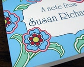 The Susan - Personalized Notecard Set - Perfect for Mom, Teachers, or Grads