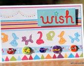 Make A Wish (Birthday Card)
