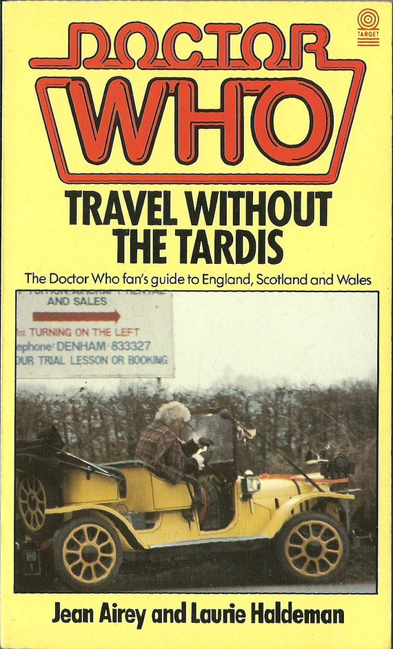 """Vintage Doctor Who Book """"Travel Without The Tardis"""""""
