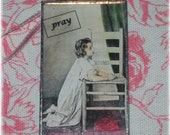 On My Knees - Postcards from Heaven - Soldered Ornament