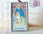 O Holy Night - Postcards from Heaven - Christmas Ornament