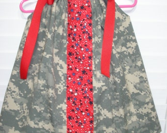 handmade Childs ACU dress