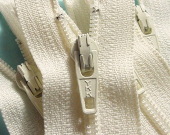 SPECIAL PRICE Wholesale 100  Vanilla 9 Inch Zippers YKK Color 121 Sale
