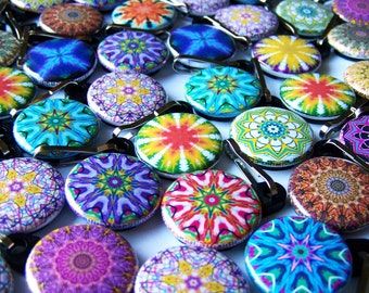 Wholesale 50 Kaleidoscope Zipper Pulls