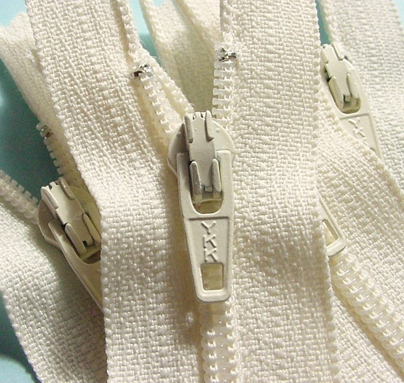 SPECIAL PRICE Wholesale 100  Vanilla 9 Inch Zippers YKK Color 121 Sale