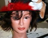 Halloween Costume Magician Hat with Rabbit  Magic Top Hat