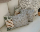 decorative throw pillows    seaside shabby cottage chic