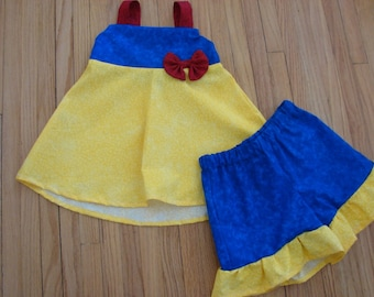 custom boutique disney princess snow white inspired outfit 2-6