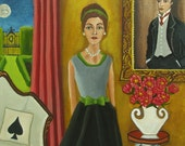 The Look Of Love-Original Painting